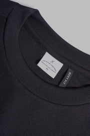 Premium Threads Boxy Fit Tee With Contrast Taping
