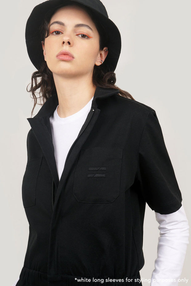 COED Work Suit With Embroidery