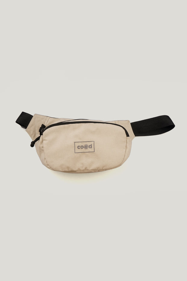 COED Multi Pockets Bum Bag With Embroidery