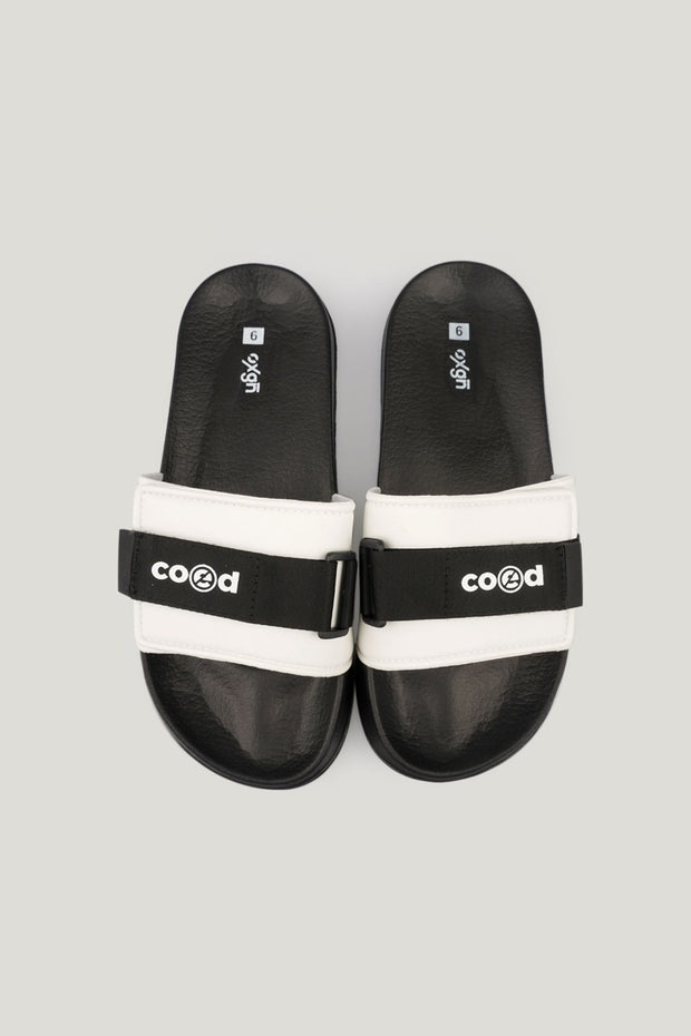 Men's COED Velcro Sliders With Print