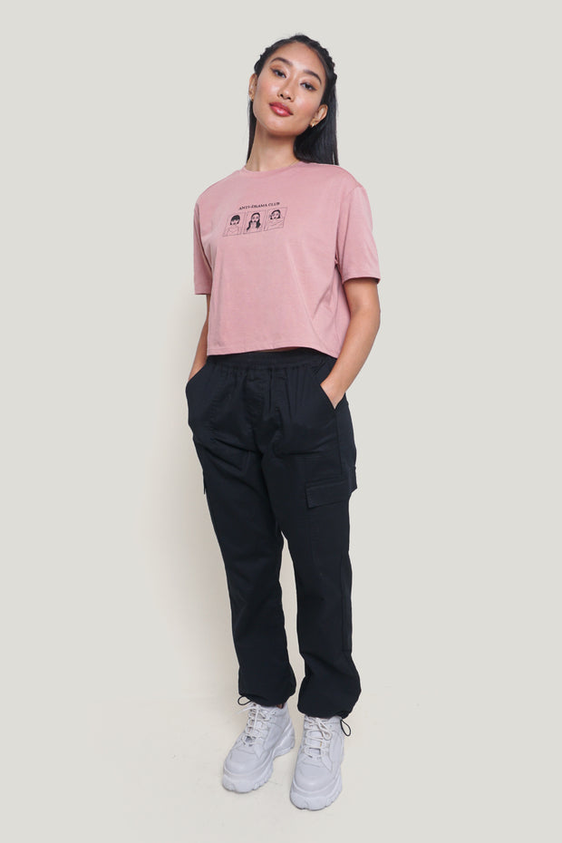 Anti-Drama Club Boxy Fit Graphic Tee