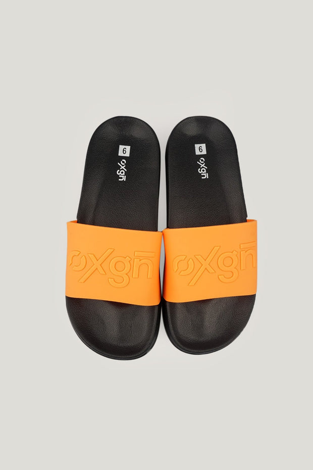 Men's OXGN Sliders with Contrast Strap