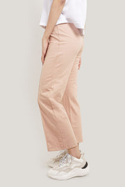 Premium Threads High Waist Wide Track Pants With Drawstring