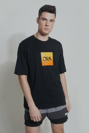 OXGN Oversized Fit Tee With Ombre Print