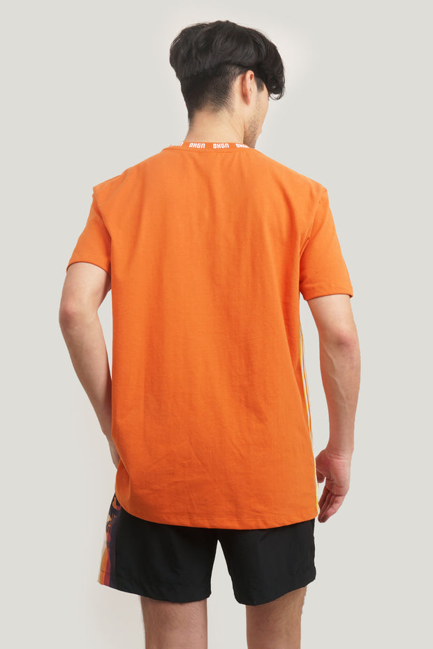 Easy Fit Tee With Side Taping