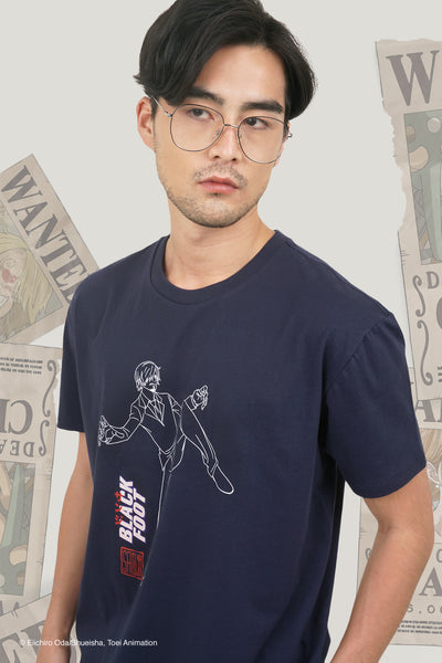 One Piece x OXGN Easy Fit Tee With Sanji Special Print