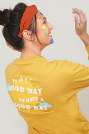 Pure Optimist Good Day Pullover with Special Print