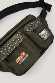 Naruto Shippuden x OXGN Bum Bag With Graphic Print