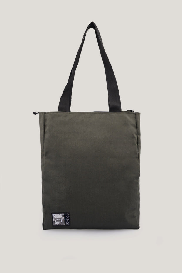 Naruto Shippuden x OXGN Tote Bag With Graphic Print