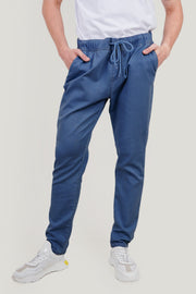 Stretch Slim Jeans With Elastic Waistband