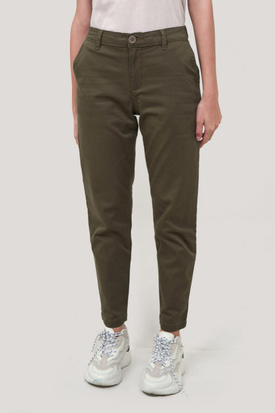 Tapered Ankle Trousers