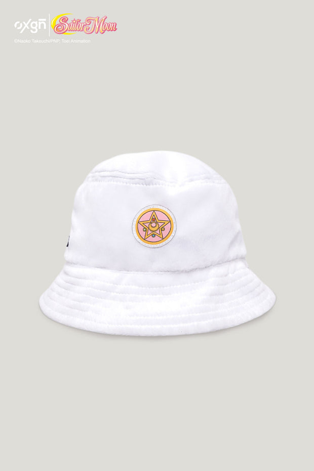 [Online Exclusive] OXGN x Pretty Guardian Crystal Star Compact Fur Bucket Hat