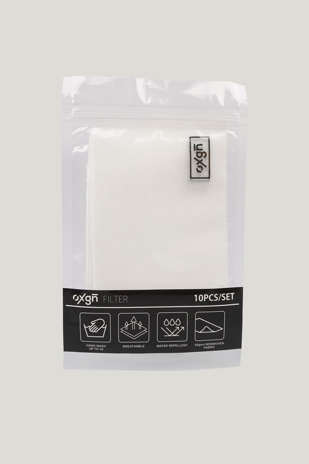Filter Refill for Reusable Face Mask - Pack of 10