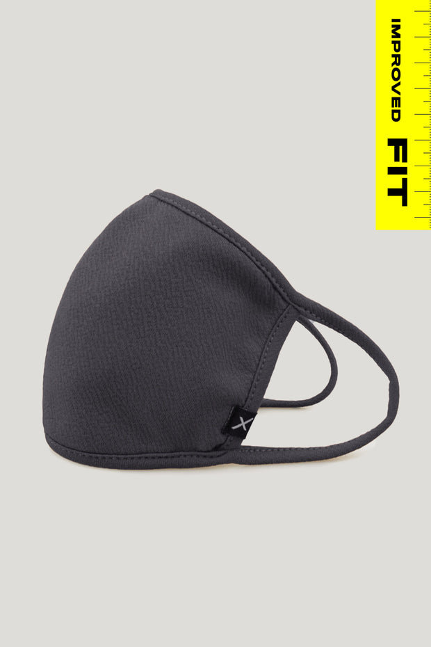 Crepe Scuba Face Mask With Filter Pocket
