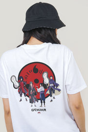 Naruto Shippuden x OXGN Uchiha Clan Regular Fit Tee With Special Print