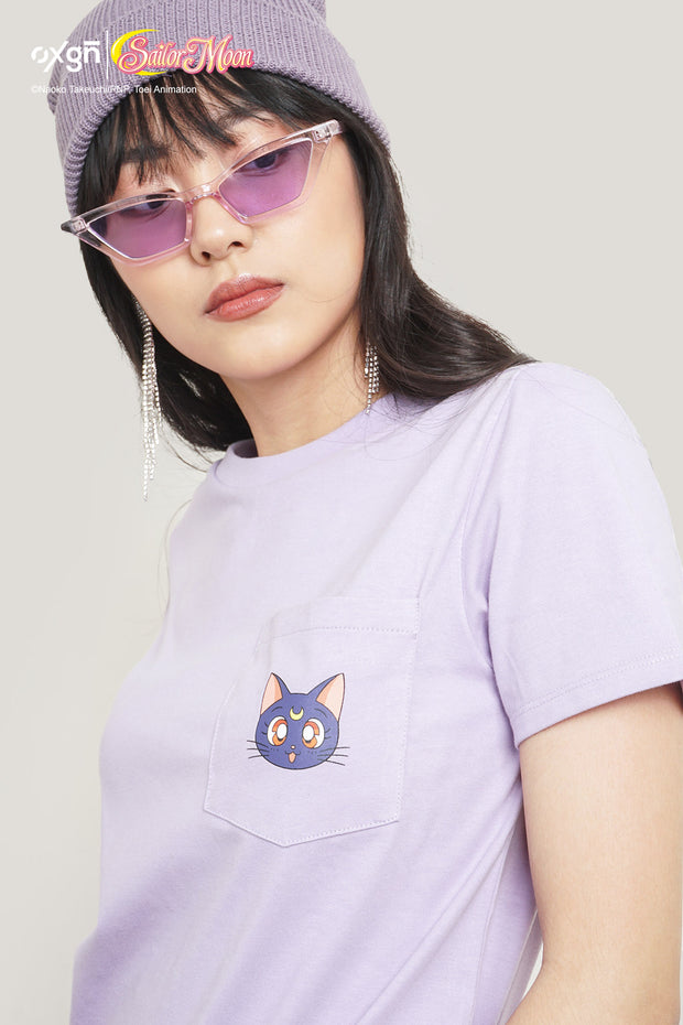 OXGN x Pretty Guardian Sailor Moon Luna Pocket T-Shirt