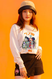 [Online Exclusive] One Piece x OXGN Straw Hat Crew Pullover With Graphic Print