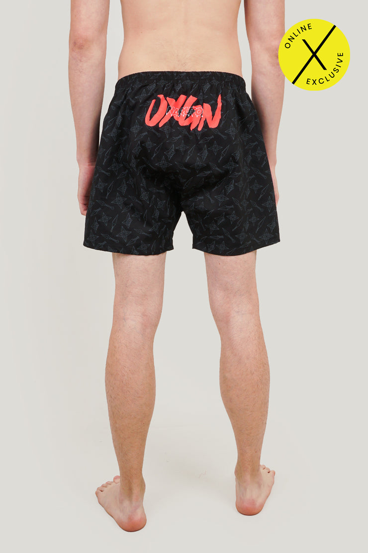 Naruto Shippuden x OXGN Boxer Shorts With All Over Print