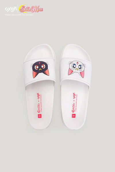 Ladies' OXGN x Pretty Guardian Sailor Moon Artemis and Luna Sliders
