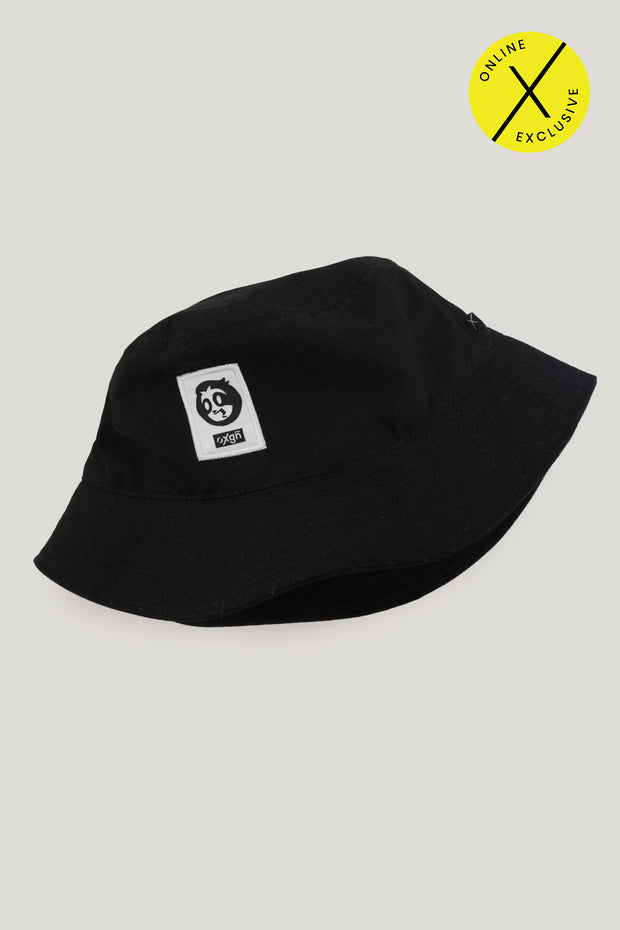 Zee Sloth Bucket Hat with Woven Patch