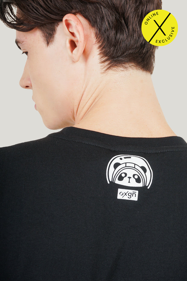 [Online Exclusive] A Space Panda Mascot Easy Fit Tee With Special Print