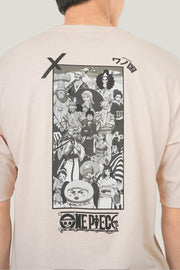 One Piece x OXGN Land of Wano Oversized Fit Tee With Special Print