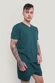 Premium Threads Easy Fit Tee and Shorts Set