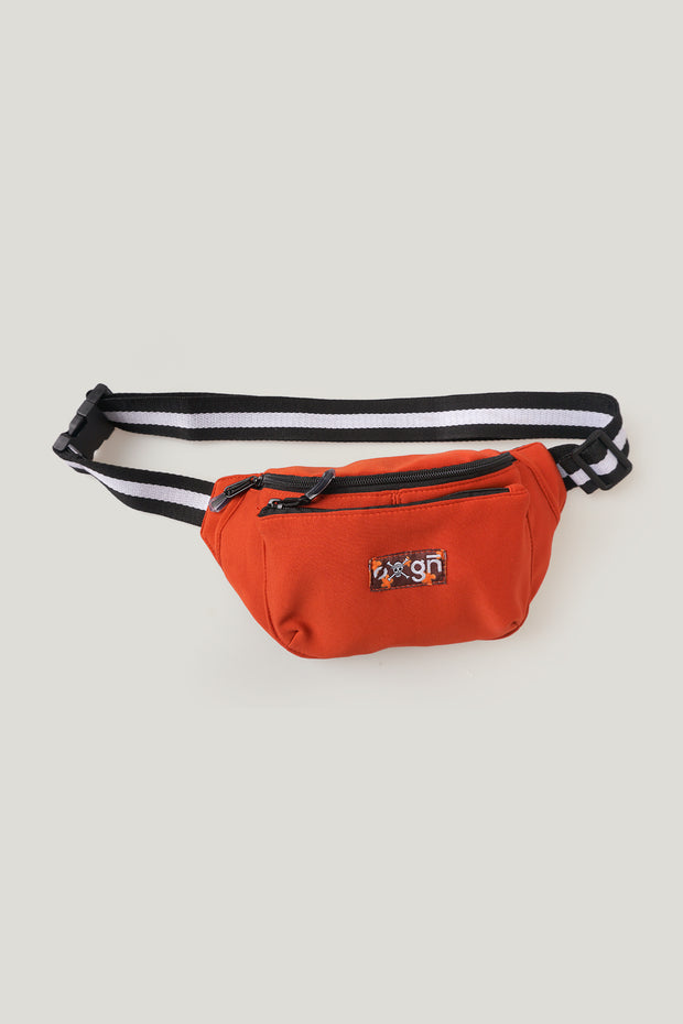 One Piece x OXGN Bum Bag With Woven Patch