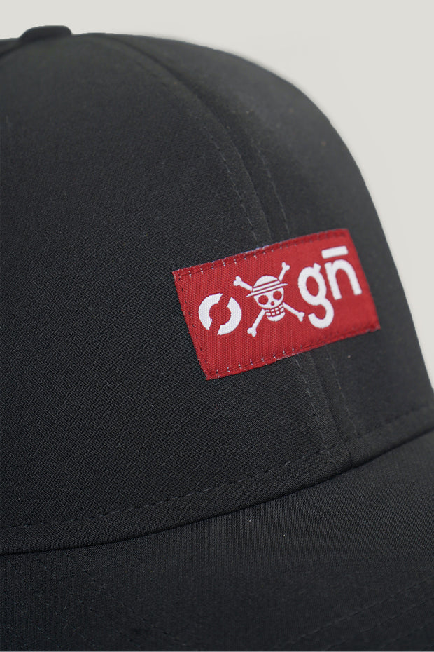 One Piece x OXGN Curved Cap With Woven Patch