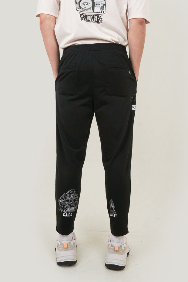 One Piece x OXGN Luffy And Kaido Track Pants With Special Print