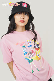 Pretty Guardian Sailor Moon x OXGN Sailor Guardians Oversized T-Shirt With Graphic Print