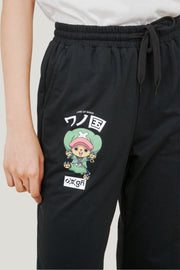 One Piece x OXGN Chopper Track Pants With Graphic Print