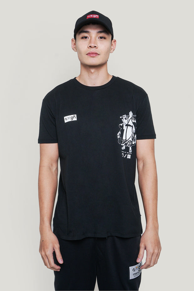 One Piece x OXGN Zoro Easy Fit Graphic Tee