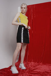 Looney Tunes Knee Length Skirt With Taping