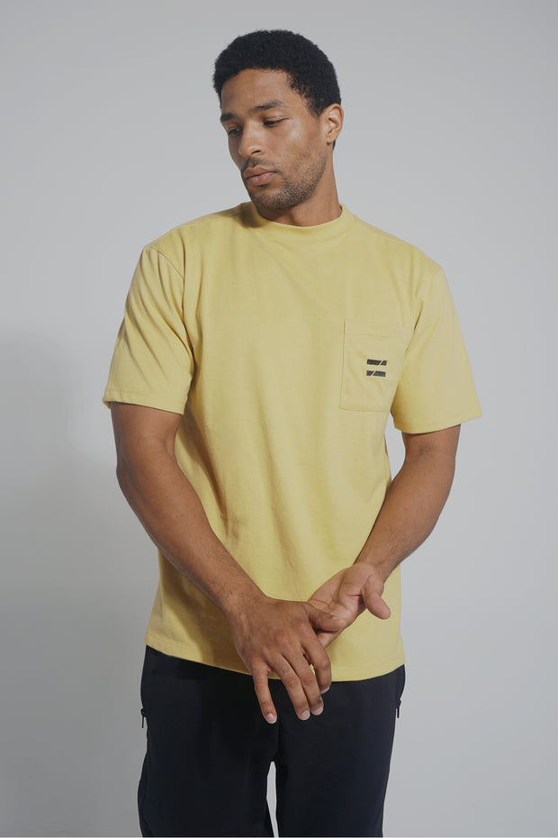 COED Boxy Tee With Pocket Detail
