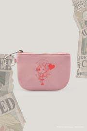 One Piece Coin Purse With Nami Flat Print