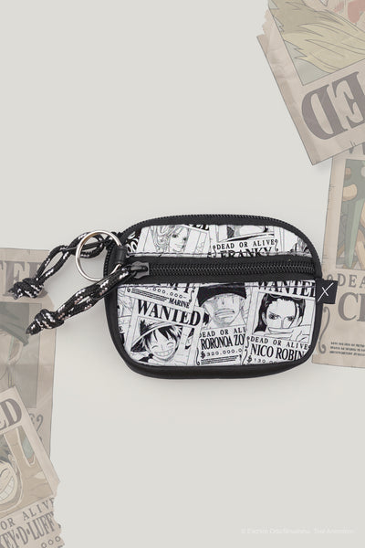 One Piece x OXGN Coin Purse With All Over Print
