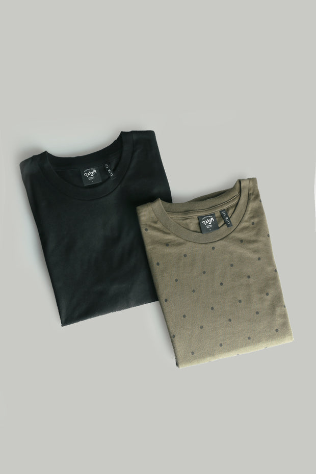 Men's Slim Fit Tee - Pack of 2