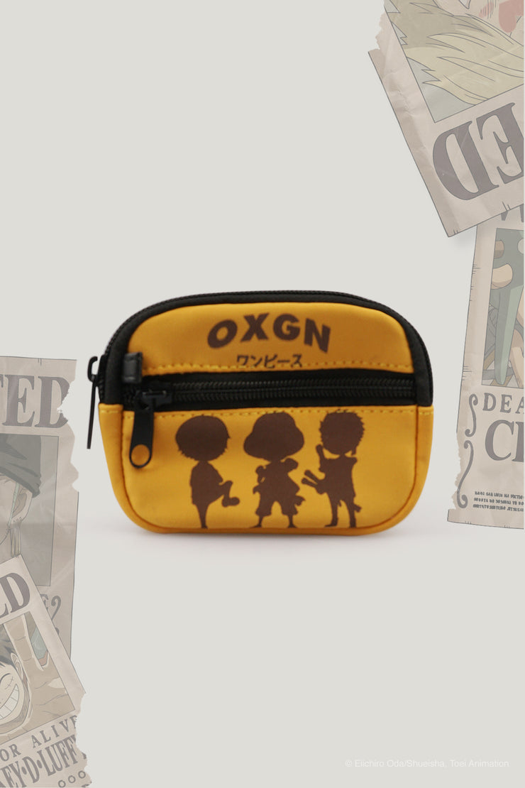 One Piece x OXGN Coin Purse With Luffy, Sanji and Zoro