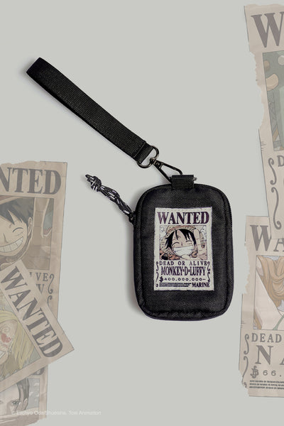 One Piece Coin Purse With Luffy Flat Print
