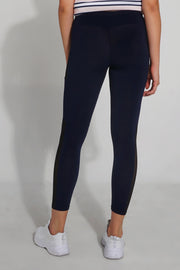 Premium Threads Leggings with Mesh Side Detail