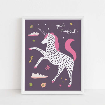 You're Magical Unicorn Print