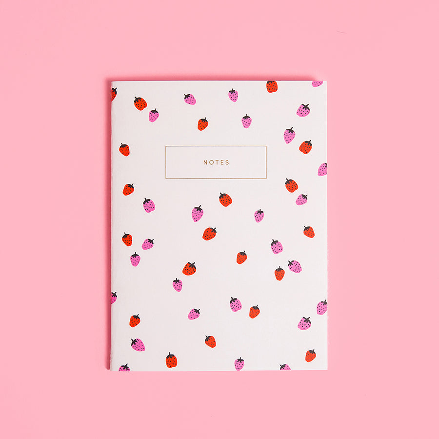 Strawberries Notebook