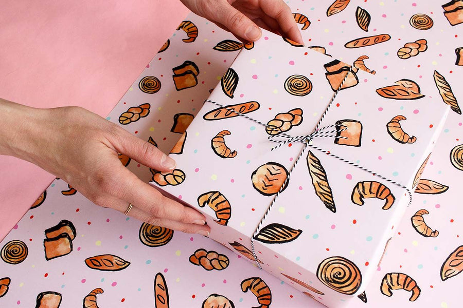 Breads Gift Wrap Sheets