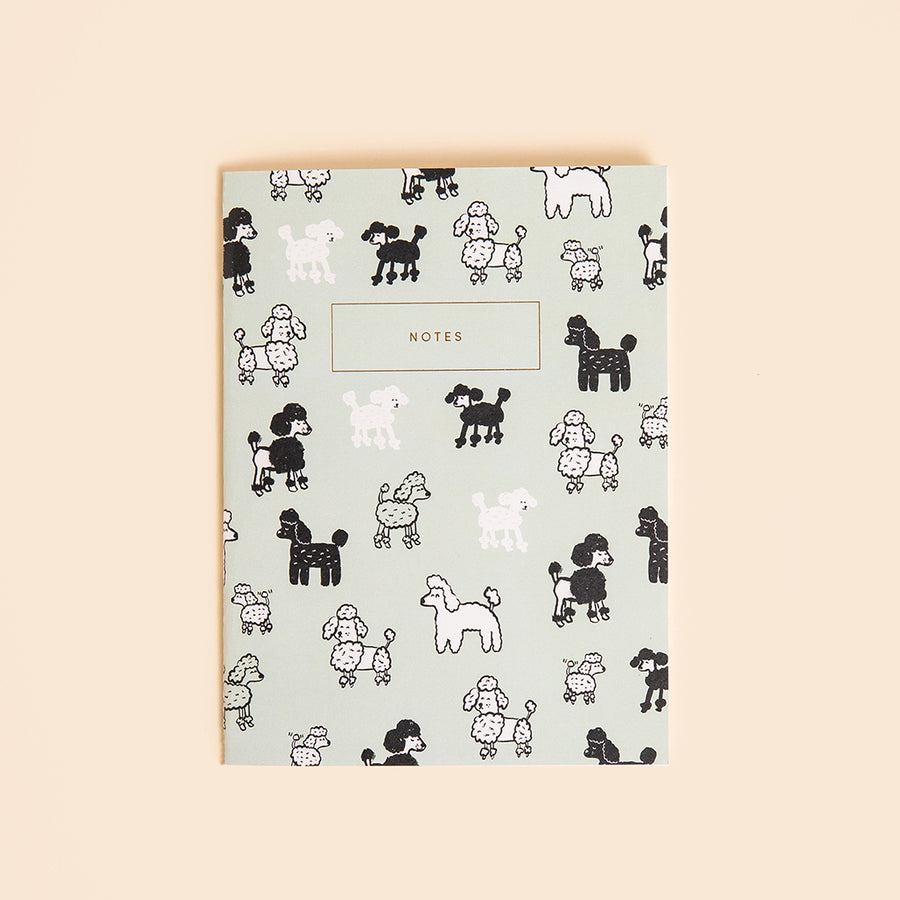 Poodle Notebook