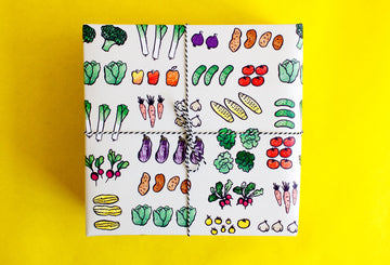 Veggies Gift Wrap Sheets