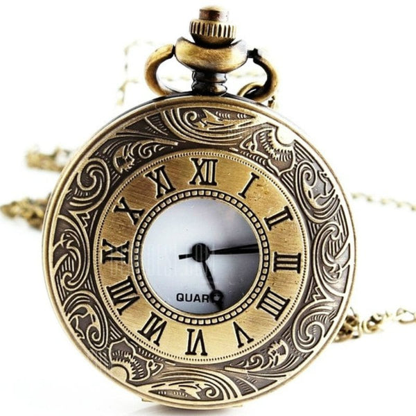 Old Rome Classic Pocket Watch- BRONZE