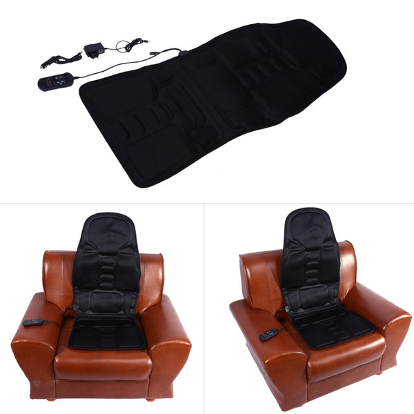 Electric Massager Chair Massage Electric Car Seat Vibrator Back Neck massagem Cushion Heat Pad For legs Waist Body Massageador