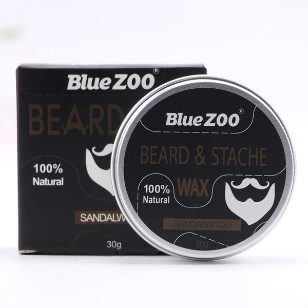 Men Beard Moustache Styling Wax Moisturizing Oil Control Balm Smoothing Care Cream  WH998
