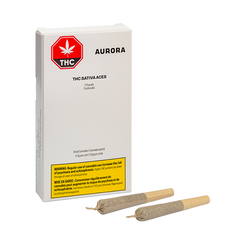 Link to Aurora Sativa Aces Pre-Roll